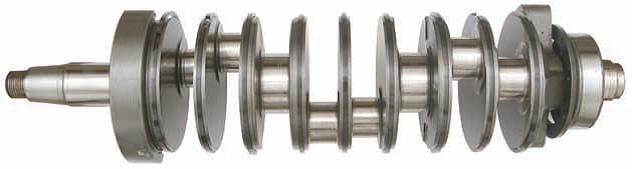 Crankshaft using Amsoil