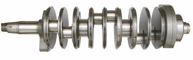 Crankshaft using Evinrude