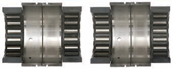 Main bearings using Evinrude
